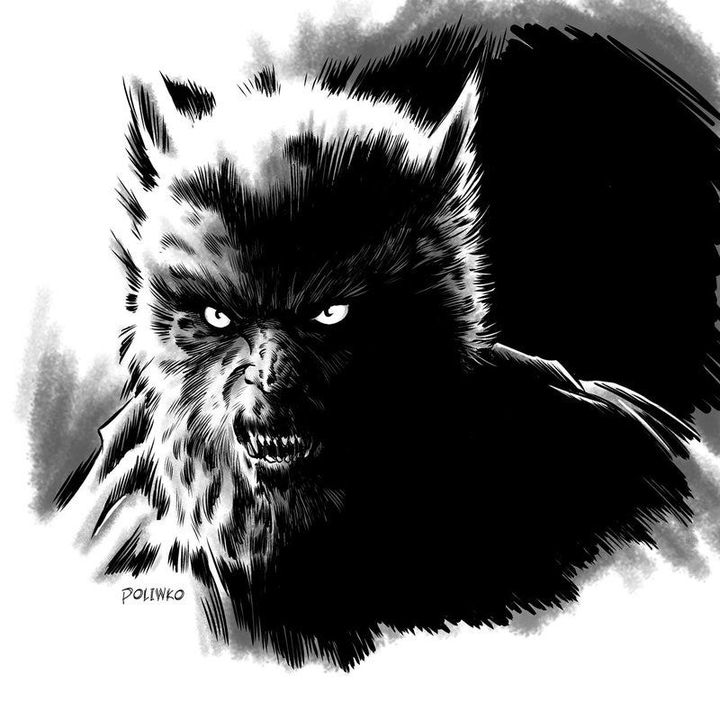 Illustration for article titled CAH of the wolfman