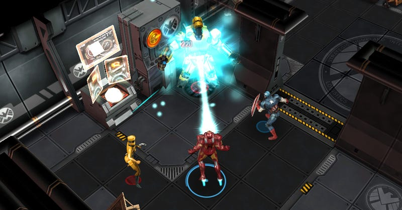 Illustration for article titled The Next Avengers Game Takes On Turn-Based Tactics