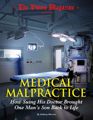 Illustration for article titled Medical Malpractice: How Suing His Doctor Brought One Man's Son Back To Life