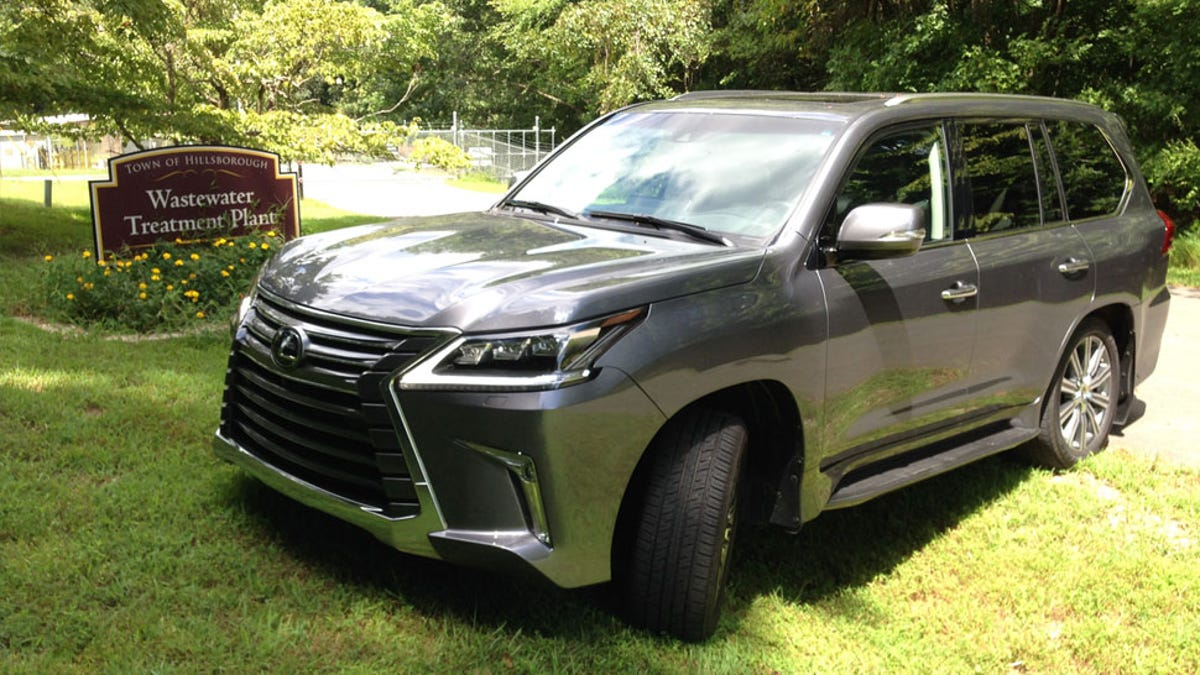The 2016 Lexus LX 570 Is A Big Lumbering Idiot-Mobile And I Hate It