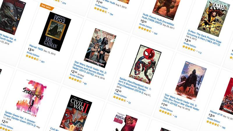 Illustration for article titled Today's best deals: Thousands of Marvel comics, sous-vide, and more