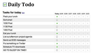 daily todo is a simple to do manager for recurring tasks
