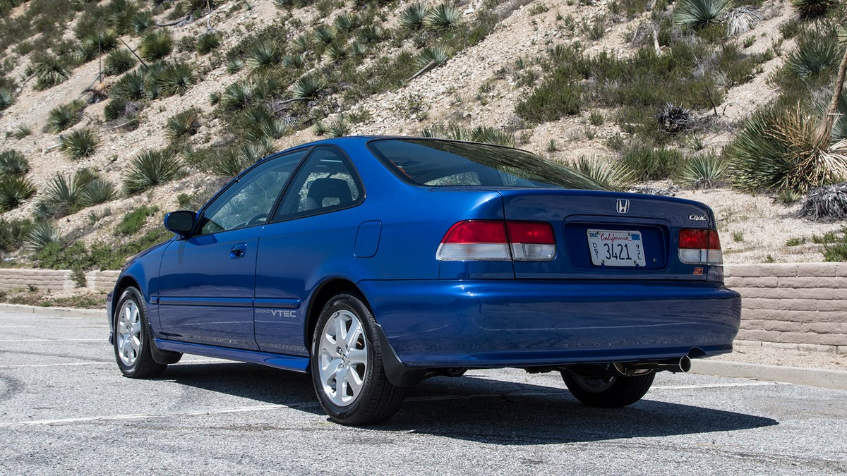What The Perfect No-Mileage 1999 Honda Civic Si Is Like To