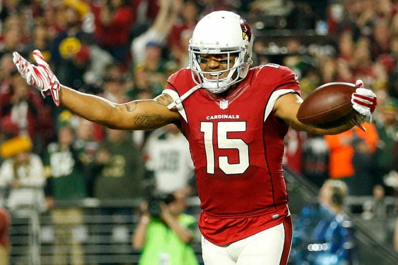 Wide receiver Michael Floyd, then of the Arizona Cardinals, on Jan. 16, 2016, in Glendale, Ariz.Christian Petersen/Getty Images