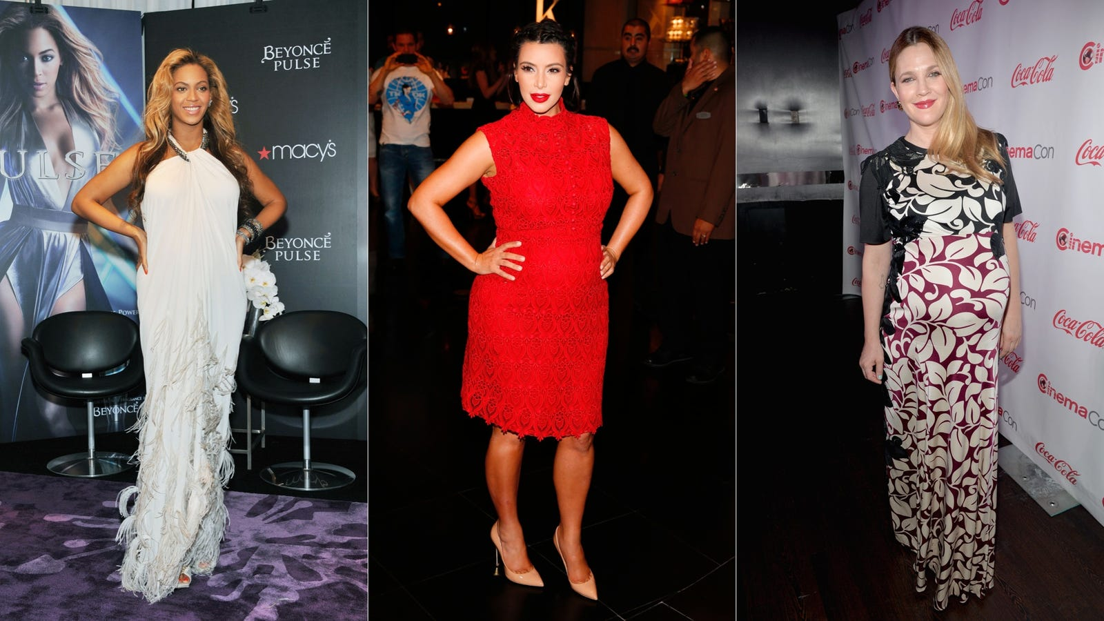 Top Ten Celebrity Baby Bumps - World Of Female
