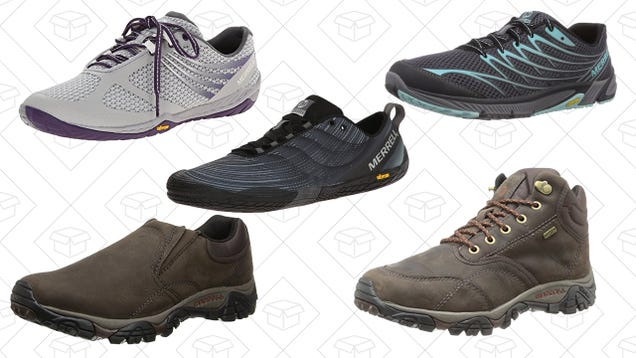 ... you could need to get outside for spring from Amazon s one-day Merrell  shoe sale. Take up to 40% off shoes for many different occasions, like  hiking, ... 943594953ca4