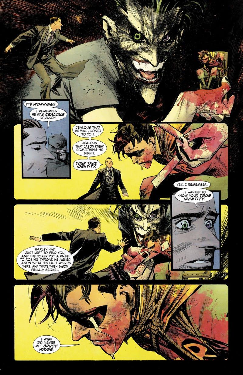 Batman: White Knight Gives the Joker an Even More Tragic