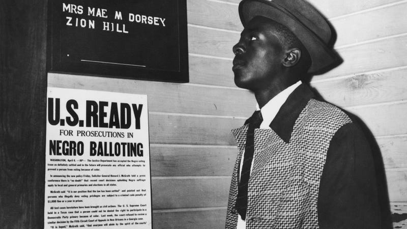 Trump Election Commission Member Suggests Jim Crow Laws Worked Better