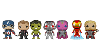 Illustration for article titled Do The Age Of UltronFunko Pops Reveal A New Take On The Hulk?