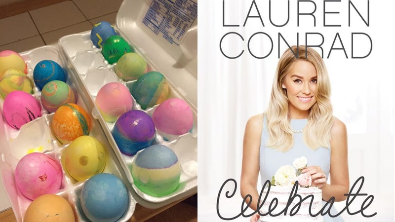 Illustration for article titled I Tried to Celebrate Like Lauren Conrad and All I Got Were a Bunch of Extra Eggs
