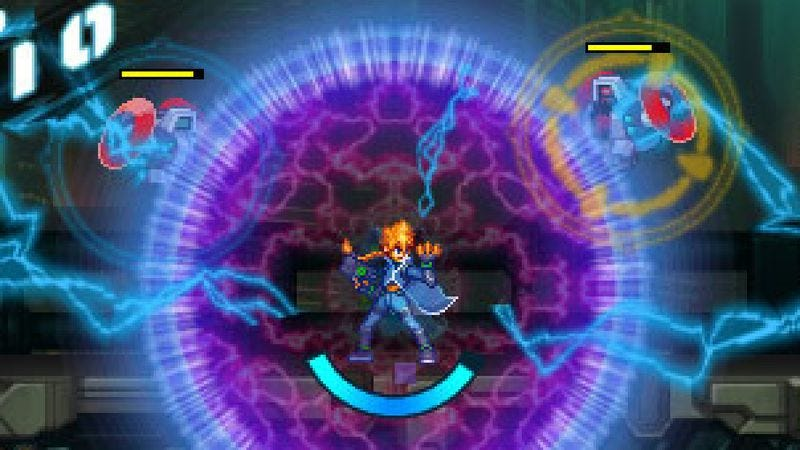 Illustration for article titled Azure Striker Gunvolt riffs on Mega Man but misses what made it a classic
