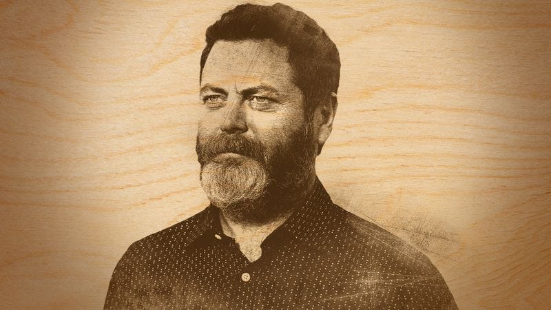 Whether Making An Ark Or A Butt Plug, Nick Offerman Knows -8333