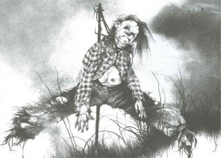 Illustration for article titled Hollywood to force Scary Stories to Tell in the Dark into one movie