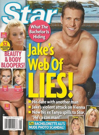 Illustration for article titled This Week In Tabloids:  The Bachelor Dated A Dude