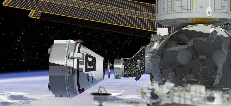 Illustration for article titled Boeing Gets a Second Order to Ferry Astronauts to the ISS