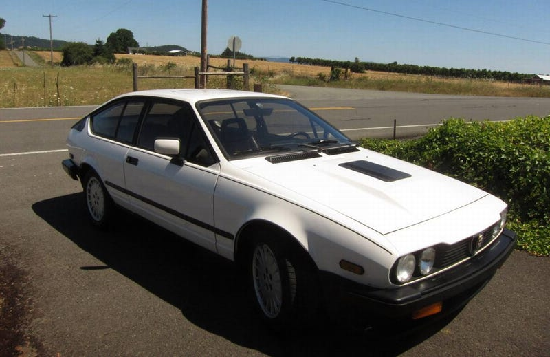 Illustration for article titled At $6,995, Could You Get Enthused Over This 1985 Alfa Romeo GTV6?