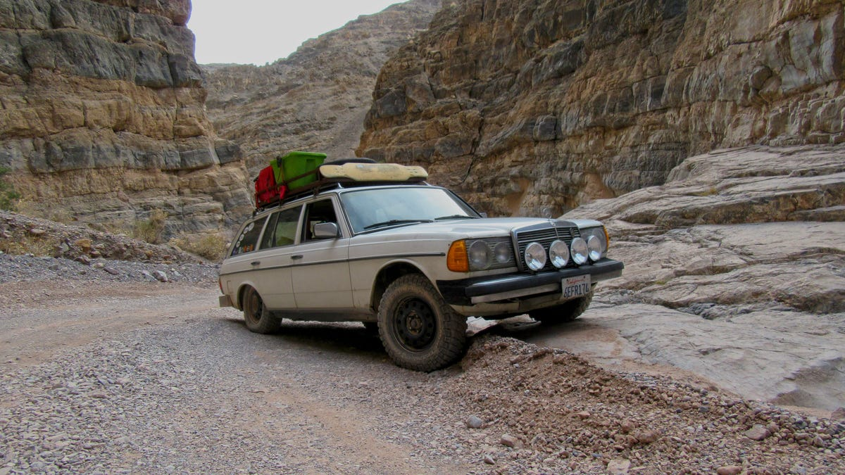 How To Turn An Old Diesel Mercedes Into The Ultimate Off-Roading Wagon