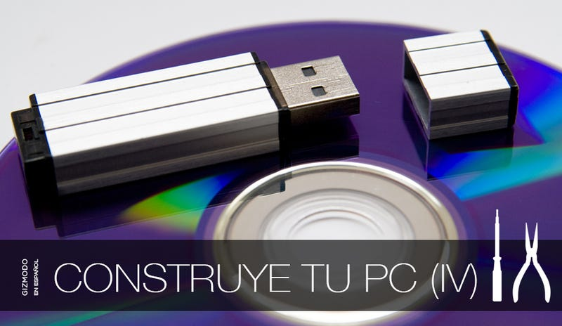 Cómo construir tu propio PC (IV): Instalar el sistema operativo