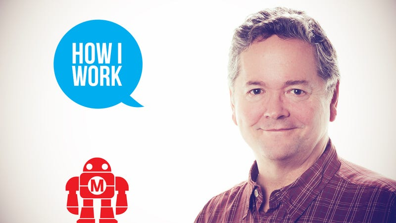 Illustration for article titled I'm Dale Dougherty, Founder of Make: Magazine, and This Is How I Work