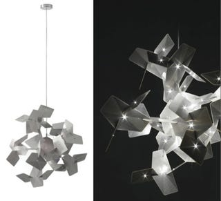 Illustration for article titled Cara Lamp is Crystal-Like LED and Silver Circuit-Board Beauty