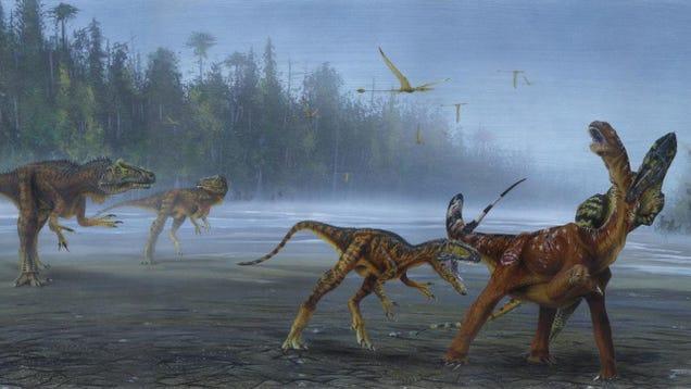 Carnivorous Dinosaur Discovered in Utah Was a True Jurassic Nightmare