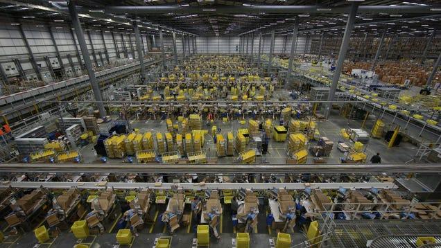 Reminder: Amazon Treats Its Employees Like Shit