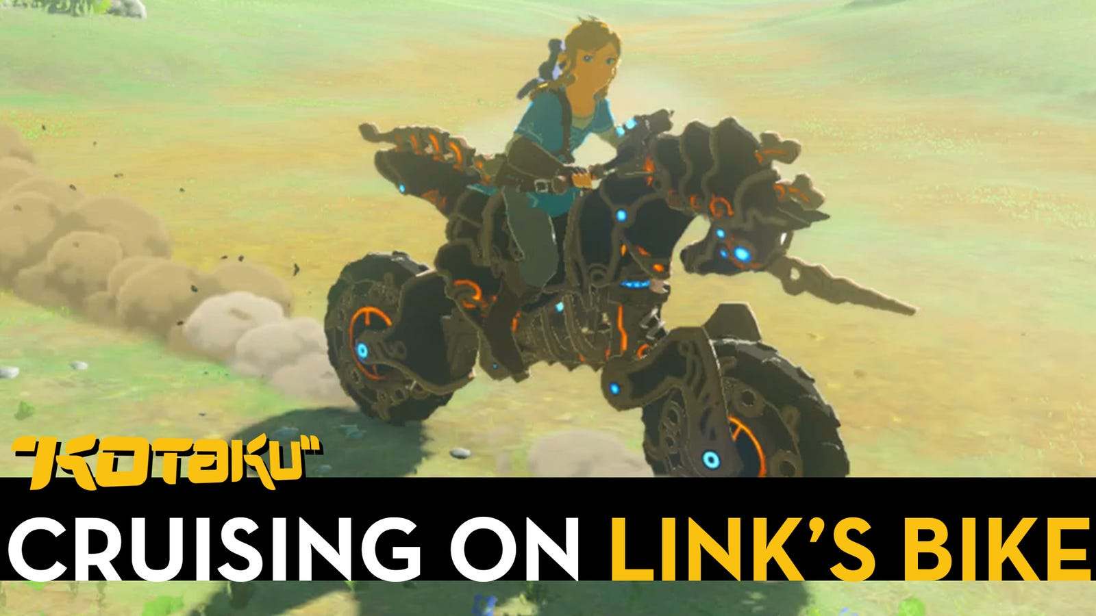 Riding a motorcycle in breath of the wild is as rad as it sounds - How do you get the master cycle zero ...