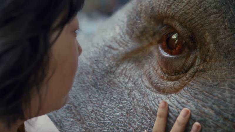 Illustration for article titled Snowpiercer 's Bong Joon-Ho Tells a Very Modern Fairy Tale in the First Trailer for Okja