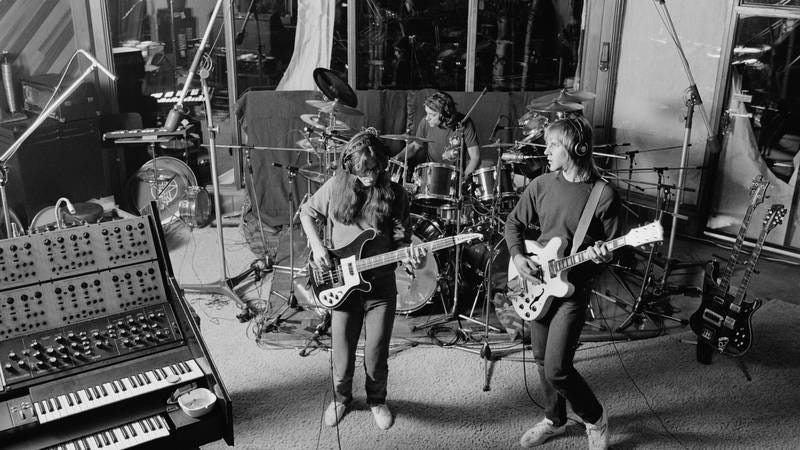 Rush recording Permanent Waves at Le Studio (Image by: Getty Images)