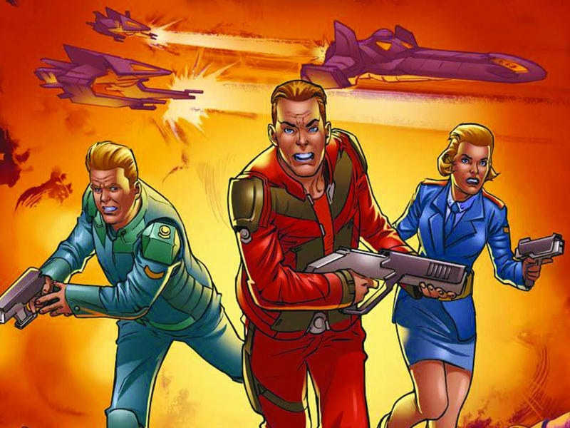 Stewardess Peabody from Peter Milligan and Alberto Fouchs.