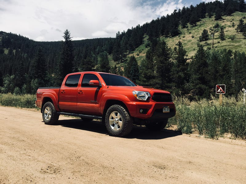 Illustration for article titled Dealer has finally listed my old truck, anyone want a 4 yr old Taco for $31k?