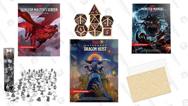 Everything You Need to Dungeon Master Your First Dungeons & Dragons Game