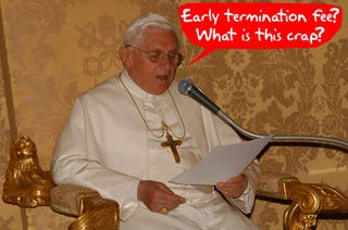 Illustration for article titled Pope to Text Young People to Appear Hip, Is About as In Touch as Your Grandpa
