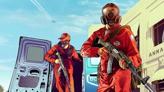 "Illustration for article titled This Grand Theft Auto V Artwork Promises ""Pest Control"" in the San Andreas Sunshine"