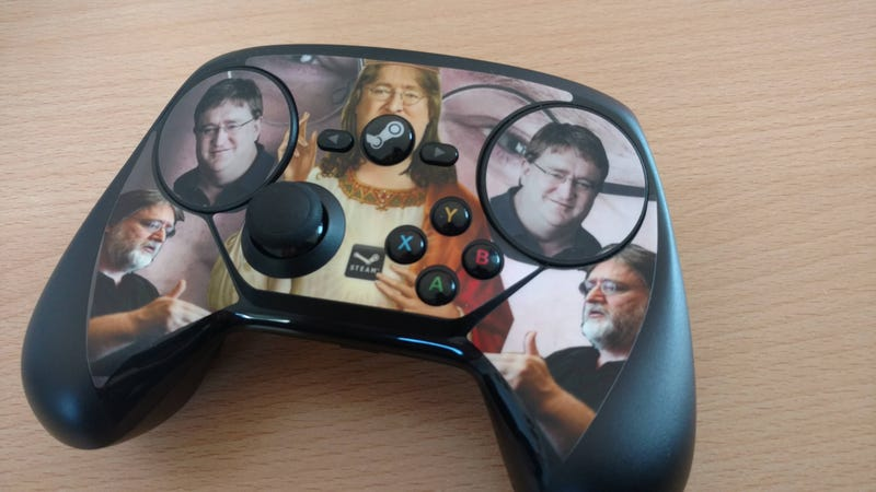 Illustration for article titled This Post Was Written With A Steam Controller