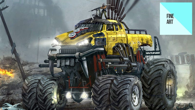 Illustration for article titled The Sweet Art of the New Twisted Metal Game