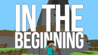 Illustration for article titled This is What Minecraft Looked Like on its Very First Day