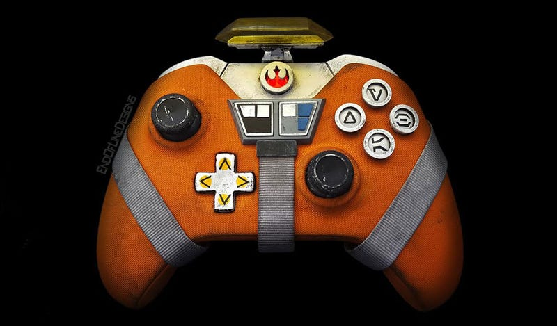 Illustration for article titled Lock Xbox Controller In Attack Position