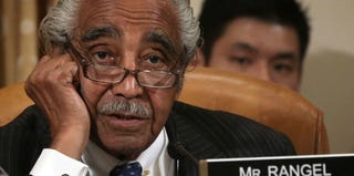 Rep. Charles Rangel during a recent hearing before the House Ways and Means Committee (Alex Wong/Getty Images)