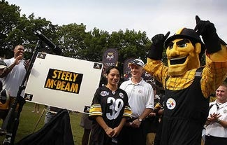 Illustration for article titled The New Steelers Mascot Is FABULOUS