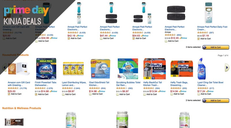 Illustration for article titled Buy $75 Worth of Stuff You Need Anyway, Get a $25 Amazon Card Back
