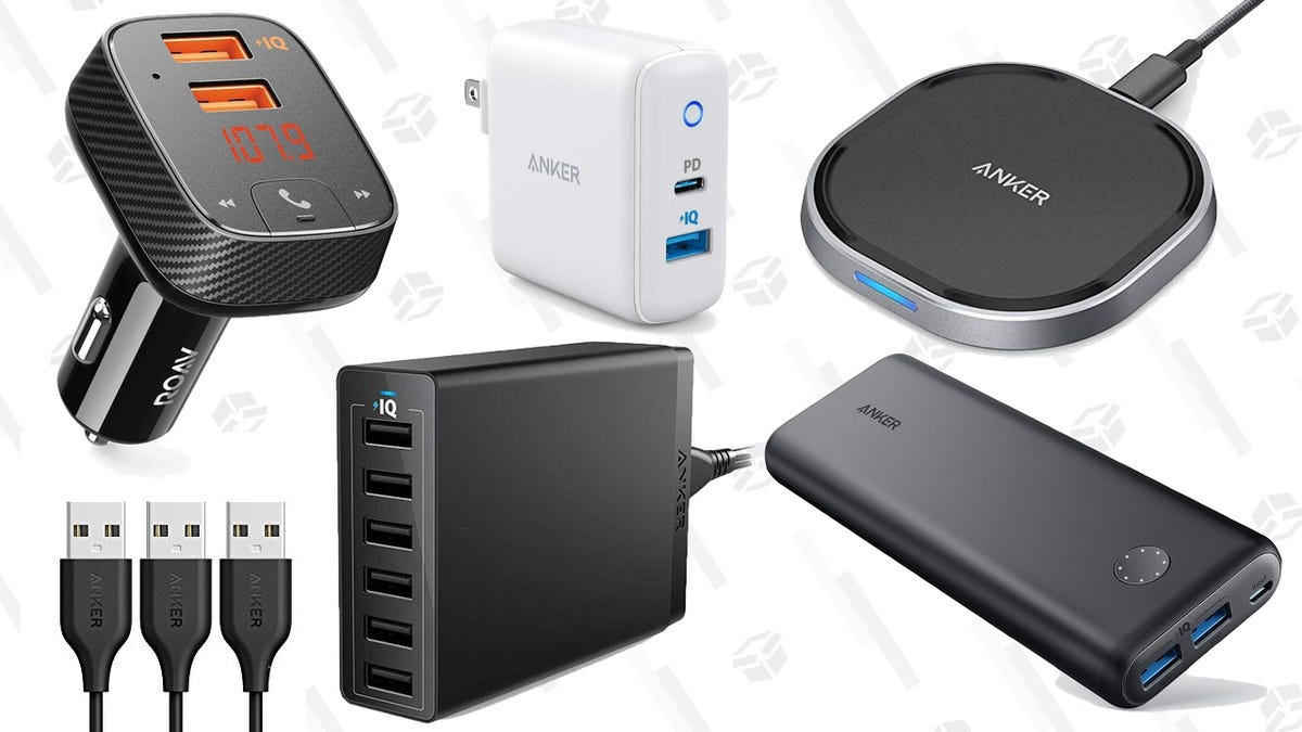 If It Has a Battery, You Can Probably Charge It With Amazon's One-Day Anker Deals