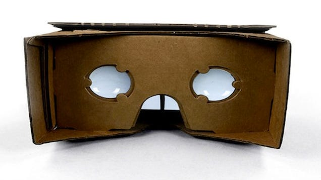 Google Cardboard Turns Your Android Into a DIY Virtual ...