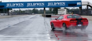 Illustration for article titled I'm Amazed I Didn't Die Driving The Hellcat On Track