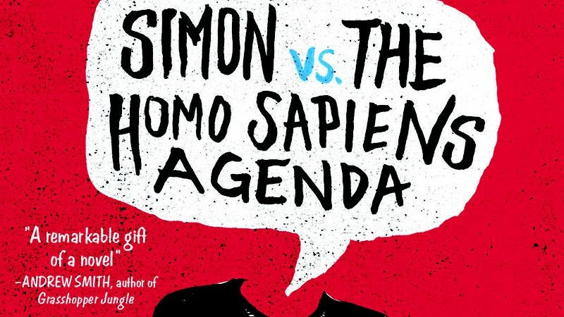 Illustration for article titled Simon Vs. The Homo Sapiens Agenda tracks a rocky coming out