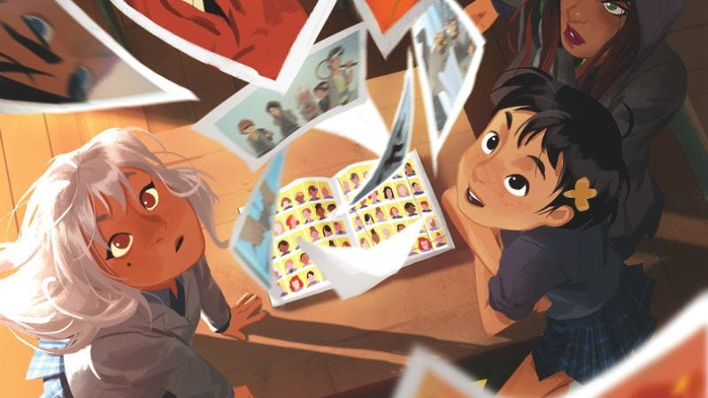 "Illustration for article titled Gotham Academy #15 brings on exciting talent to fill its ""Yearbook"""