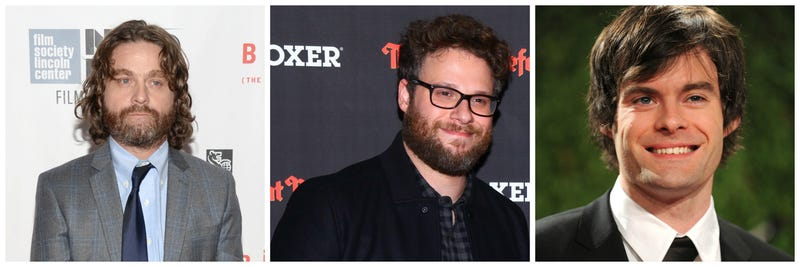 Illustration for article titled Zach Galifianakis, Seth Rogen, and Bill Hader To Star in Astronaut Comedy The Something