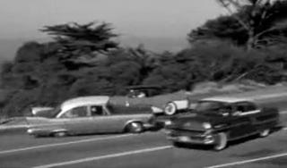 Illustration for article titled 1957 Plymouth Leads 1957 Dodge On Crazed San Francisco Car Chase