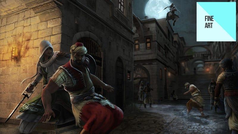 Illustration for article titled The Renaissance Art of David Alvarez [Update]