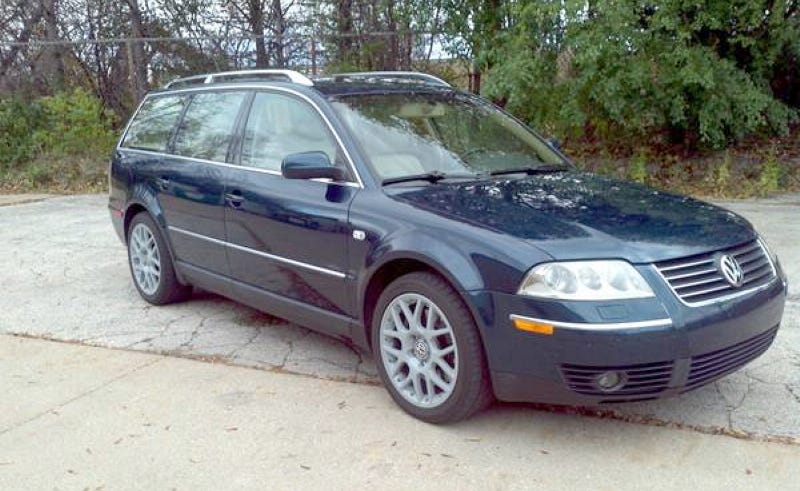 could you go 7 200 for this rare 2003 vw passat w8. Black Bedroom Furniture Sets. Home Design Ideas